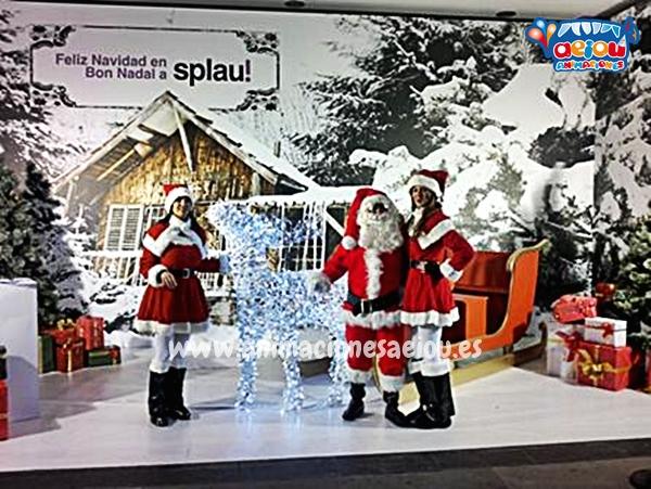 Papá Noel a domicilio con su visita