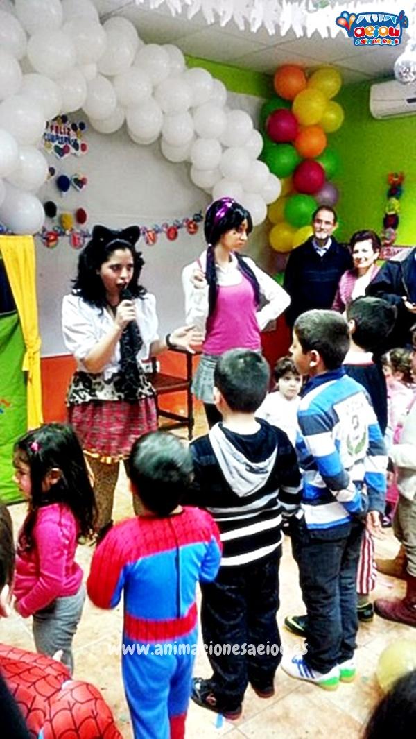 animadores fiestas cumpleaños infantiles