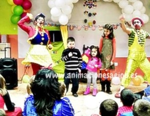 Payasos fiestas infantiles España