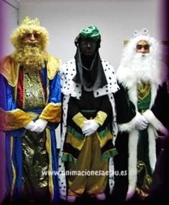 Reyes Magos a domicilio